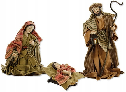 Sv. Rodina v odevoch - figúrky do 30 cm