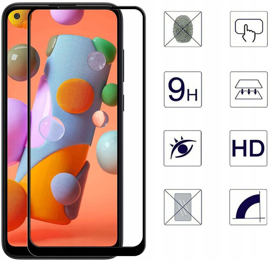 Szkło Hartowane Pełne do Samsung Galaxy A11 / M11 Rodzaj szkło hartowane