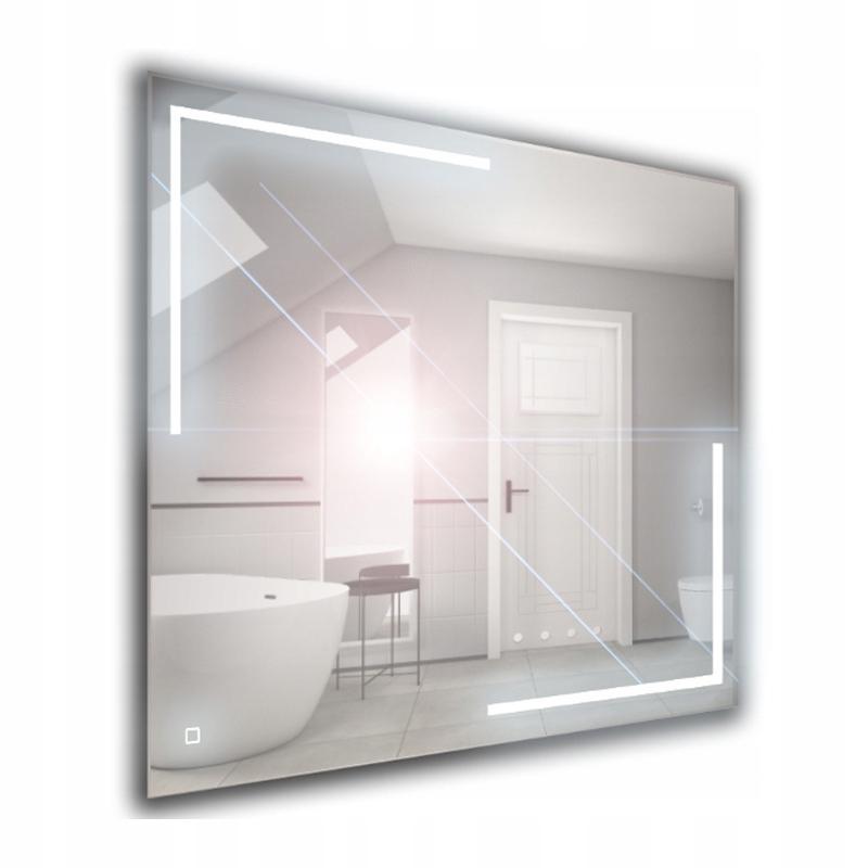 Зеркало для ванной LED с выключателем 80x65 SP3