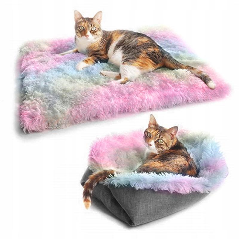 2In1 Плюшевая кровать для собаки кошки