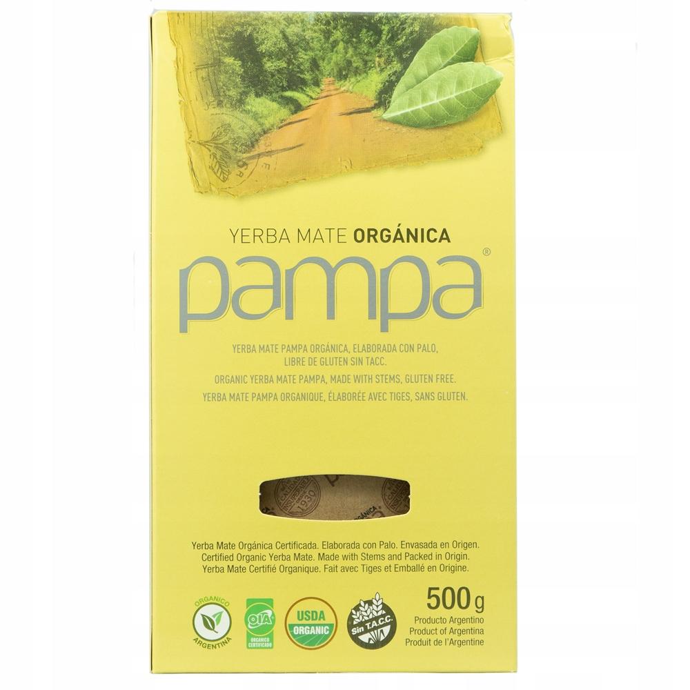 Купить Yerba Mate Pampa Organica Elaborada Con Palo 500гр на Otpravka - цены и фото - доставка из Польши и стран Европы в Украину.