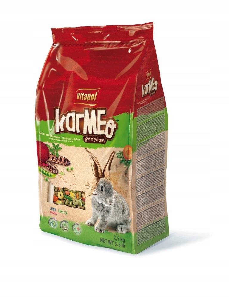Корм премиум-класса Vitapol KARMEO для кроликов 2,5 кг.