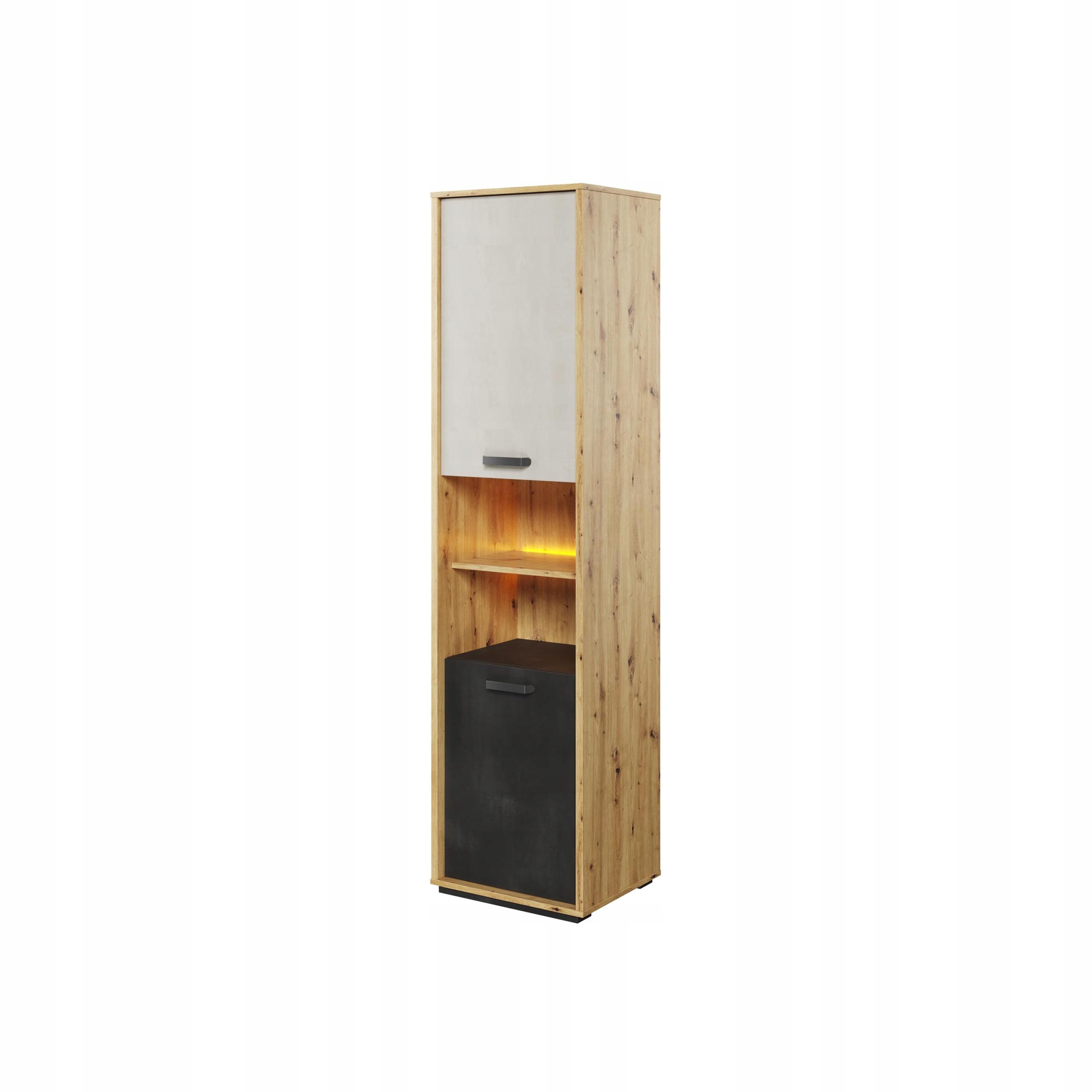 Молодежный двухдверный шкаф Qubic QB-04 LED
