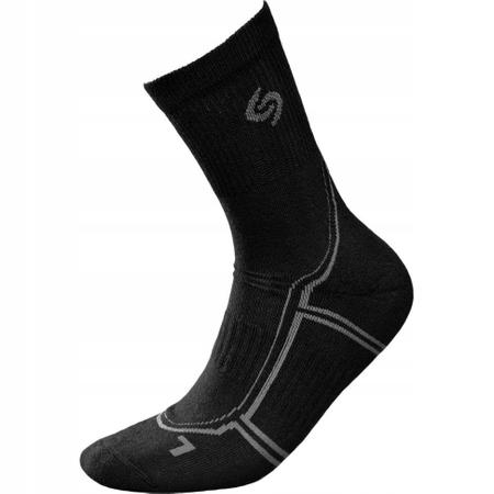 Nordic Walking Deodorant Socks Black 35-37