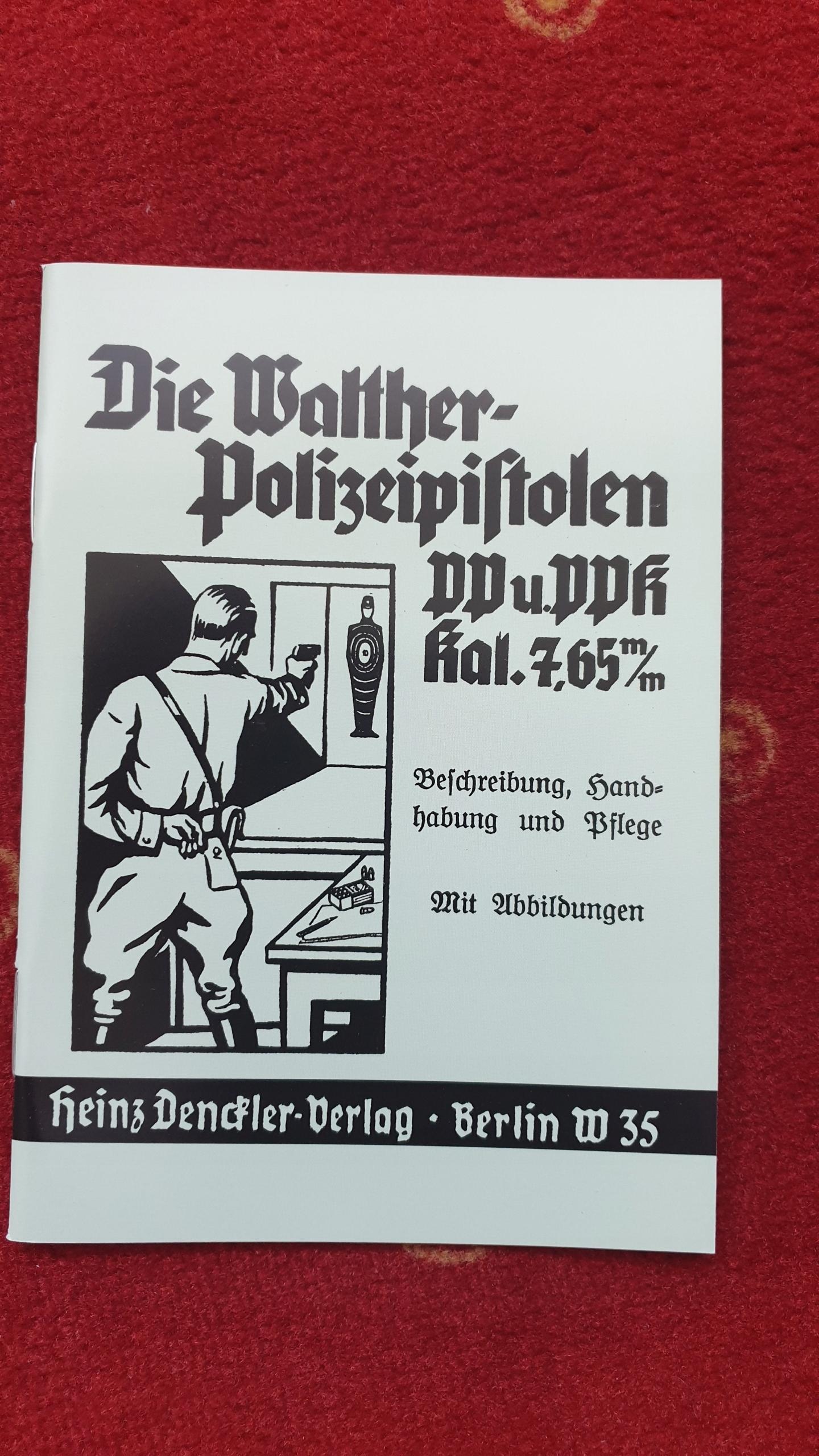 instrukcja pistolet WALTHER PP - PPK /replint/