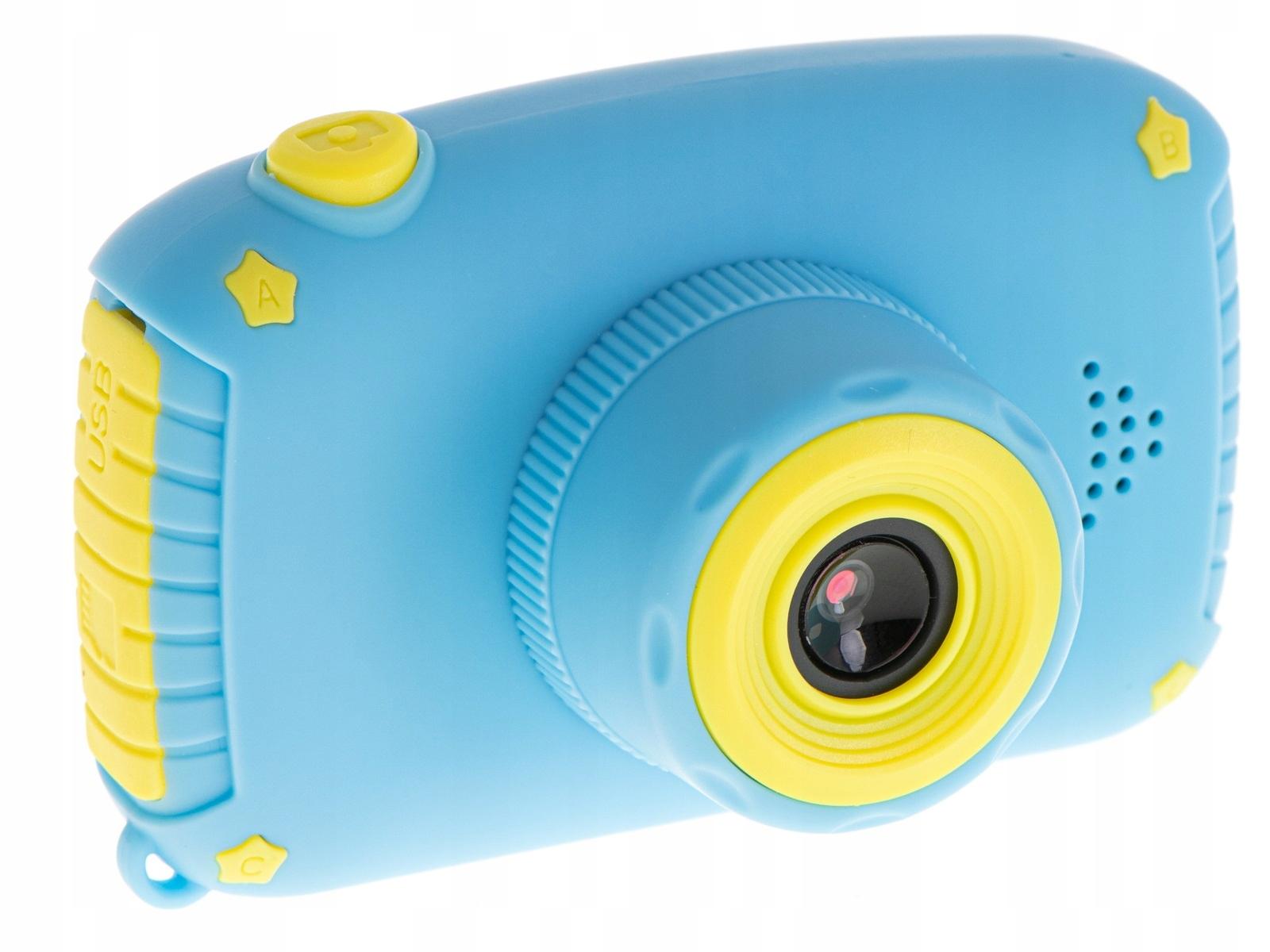 Aparat Cyfrowy Kamera dla Dzieci LCD KRÓLIK GRY Kolor dominujący wielokolorowy
