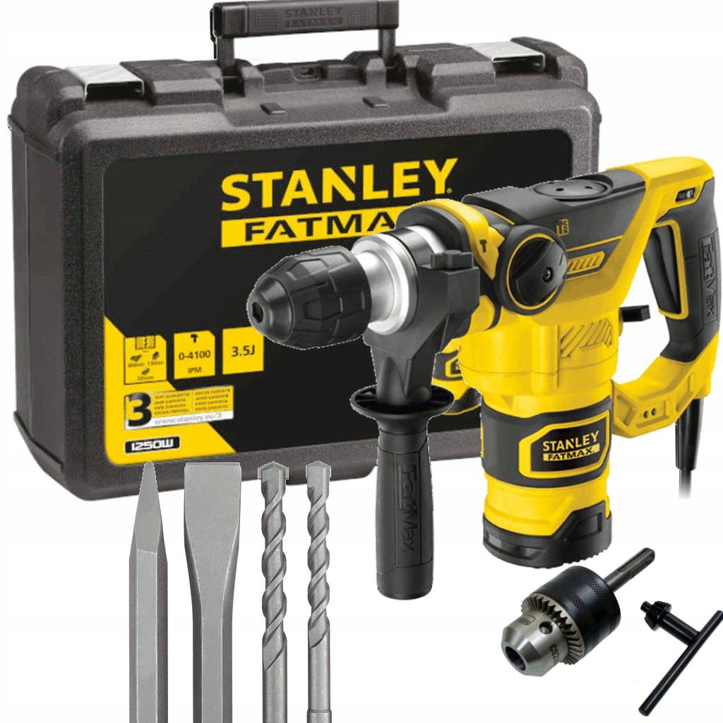 STANLEY HAMMER 1250 Вт SDS + 3,5 Дж FME1250K