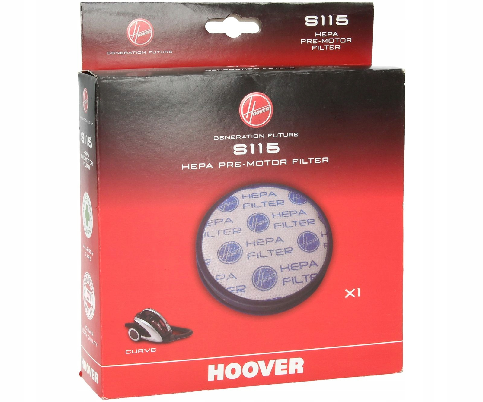 Vákuový filter HOOVER REACTIV RC81 RC16 HEPA F11