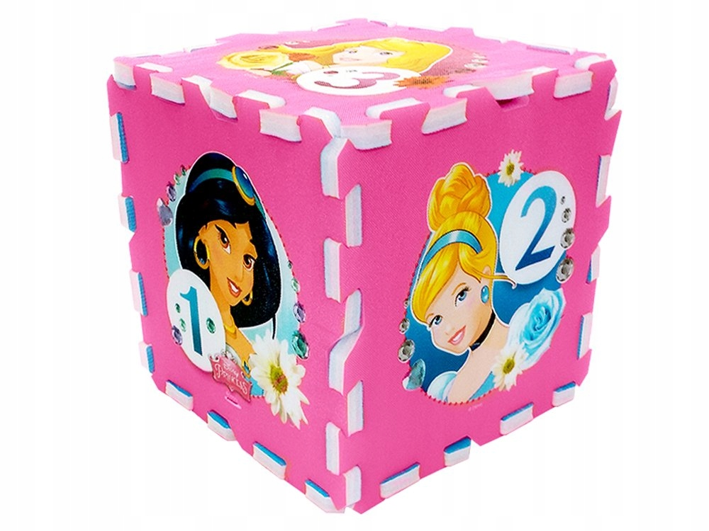 Puzzle piankowe Disney Princess mata 31x31 ZA3154 Bohater inny