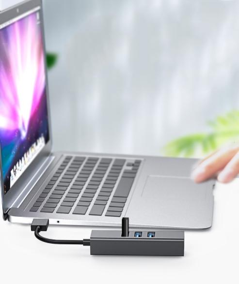 KARTA SIECIOWA HUB 3x USB 3.0 GIGABIT 1000Mbs RJ45 Rodzaj karty zewnętrzna