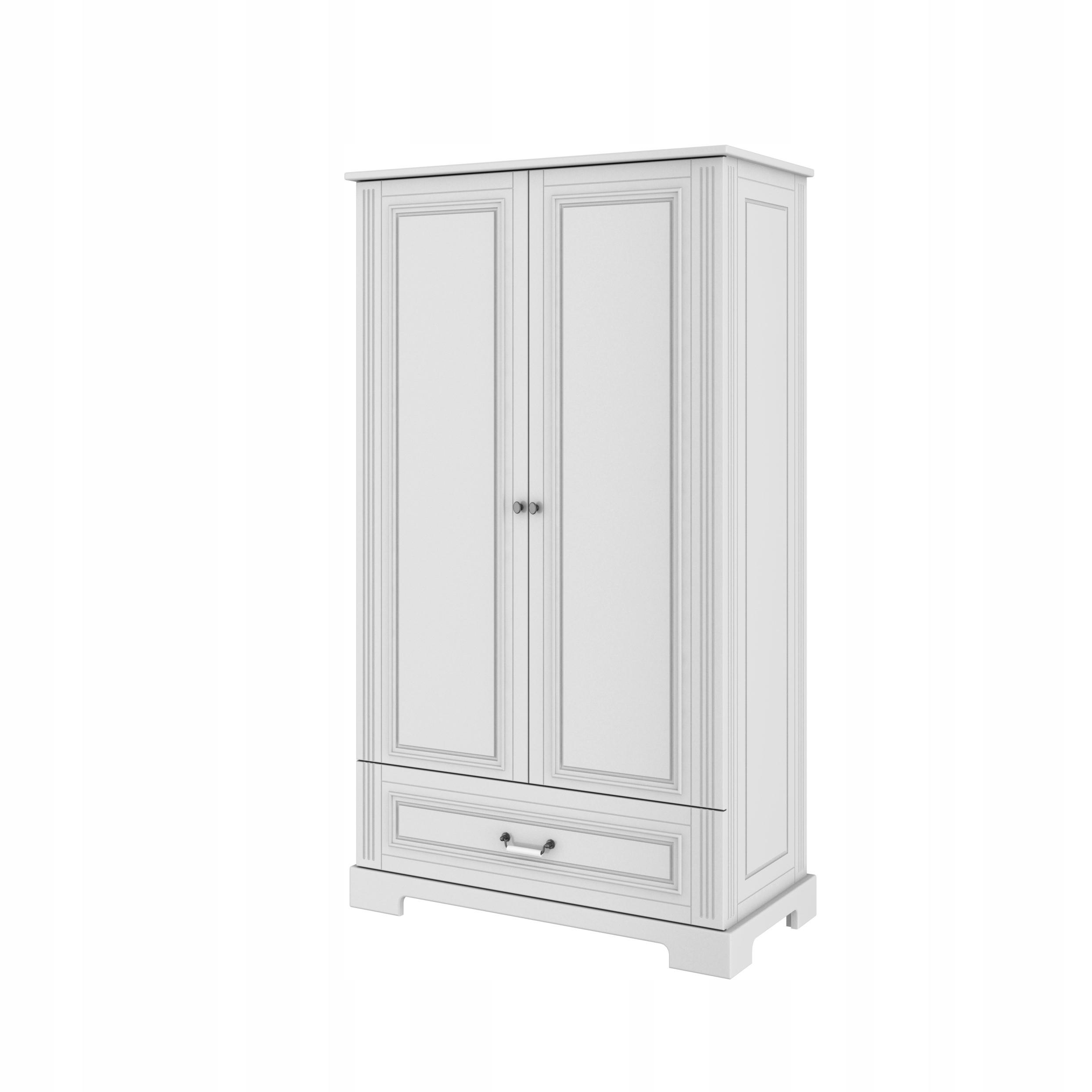 Ines szafa 2-drzwiowa biała, Bellamy