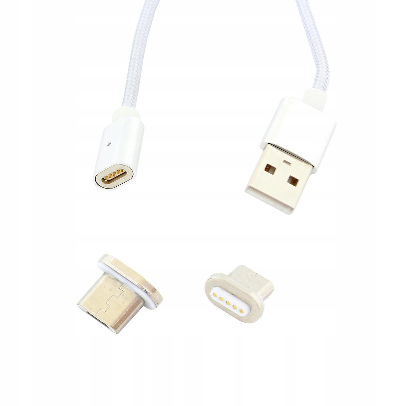 MAGNETYCZNY KABEL 1m MICRO USB DO TELEFONU OPLOT