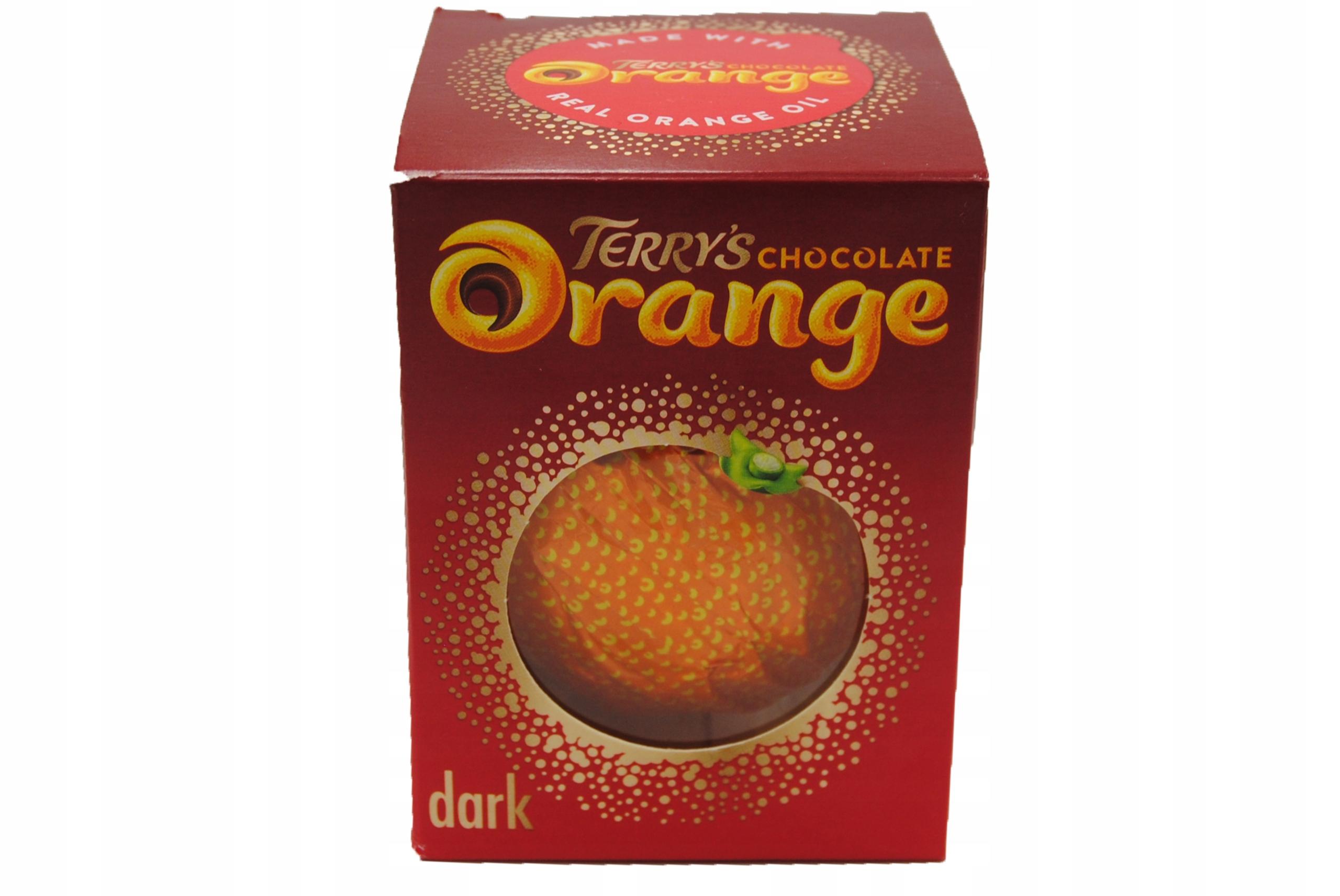 4x шоколадные шарики Terry's Orange с десертом 175 г