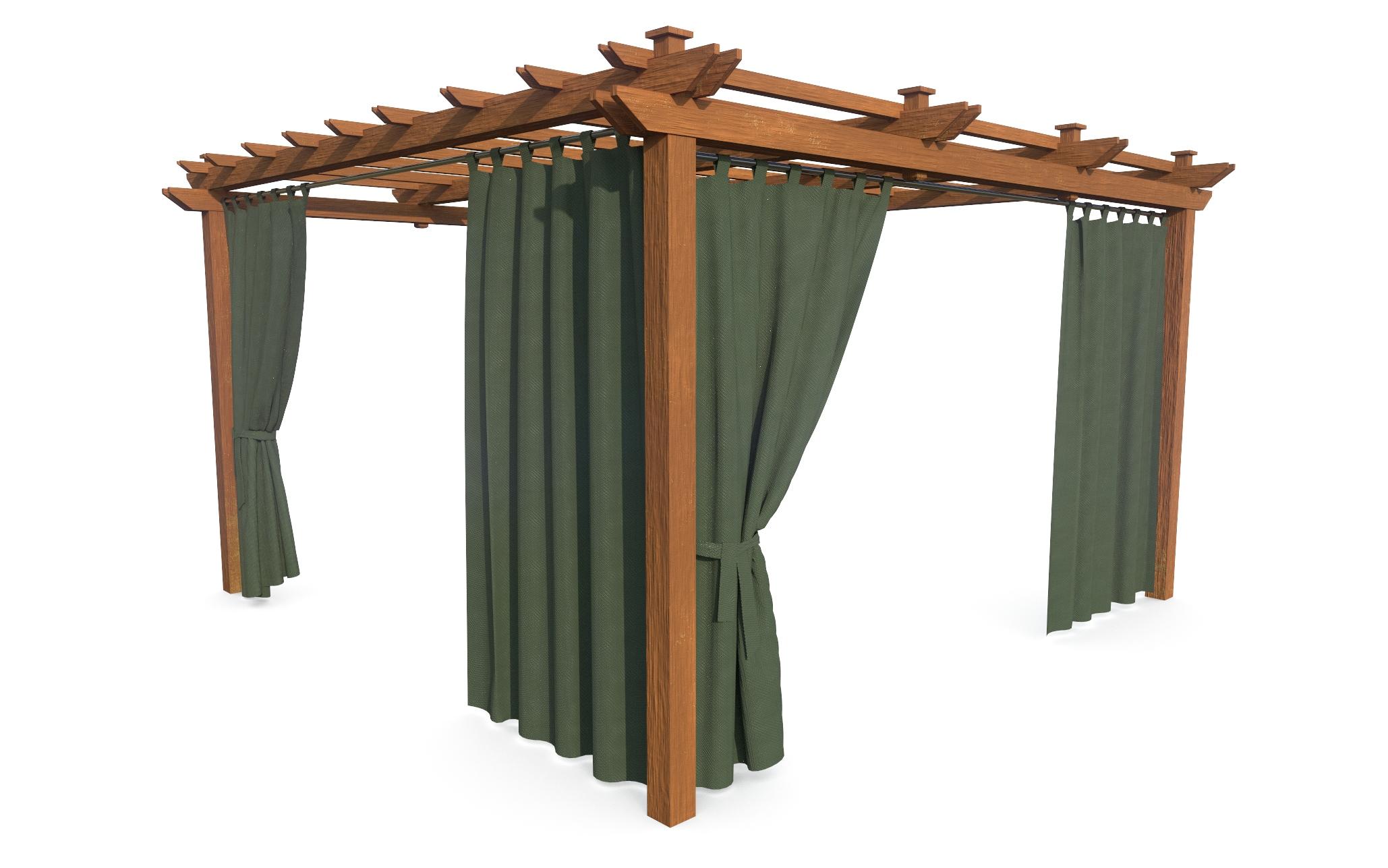 Zasłony ogrodowe tarasowe balkon rzepy TWÓJ WYMIAR