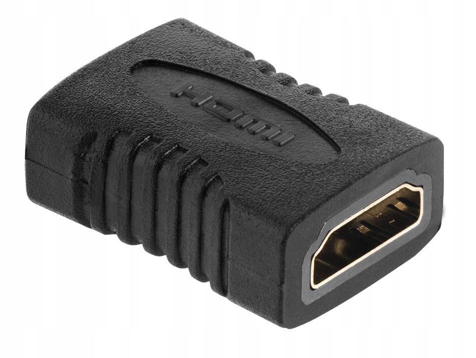 Łącznik Adapter Beczka Połączenia Dwóch Kabli HDMI
