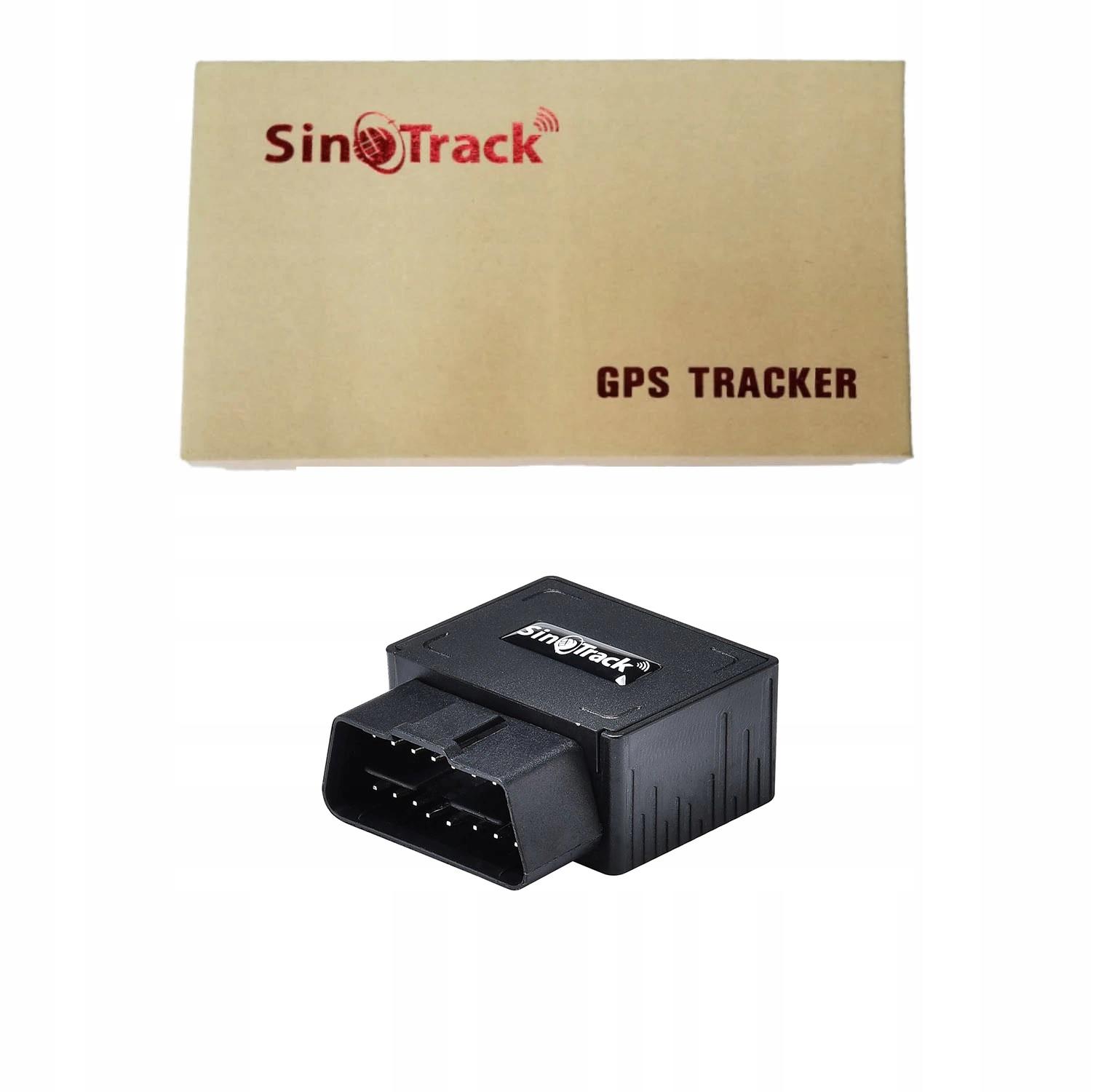 GPS GSM OBD do sledzenia pojazdów Plug & Play Model obd