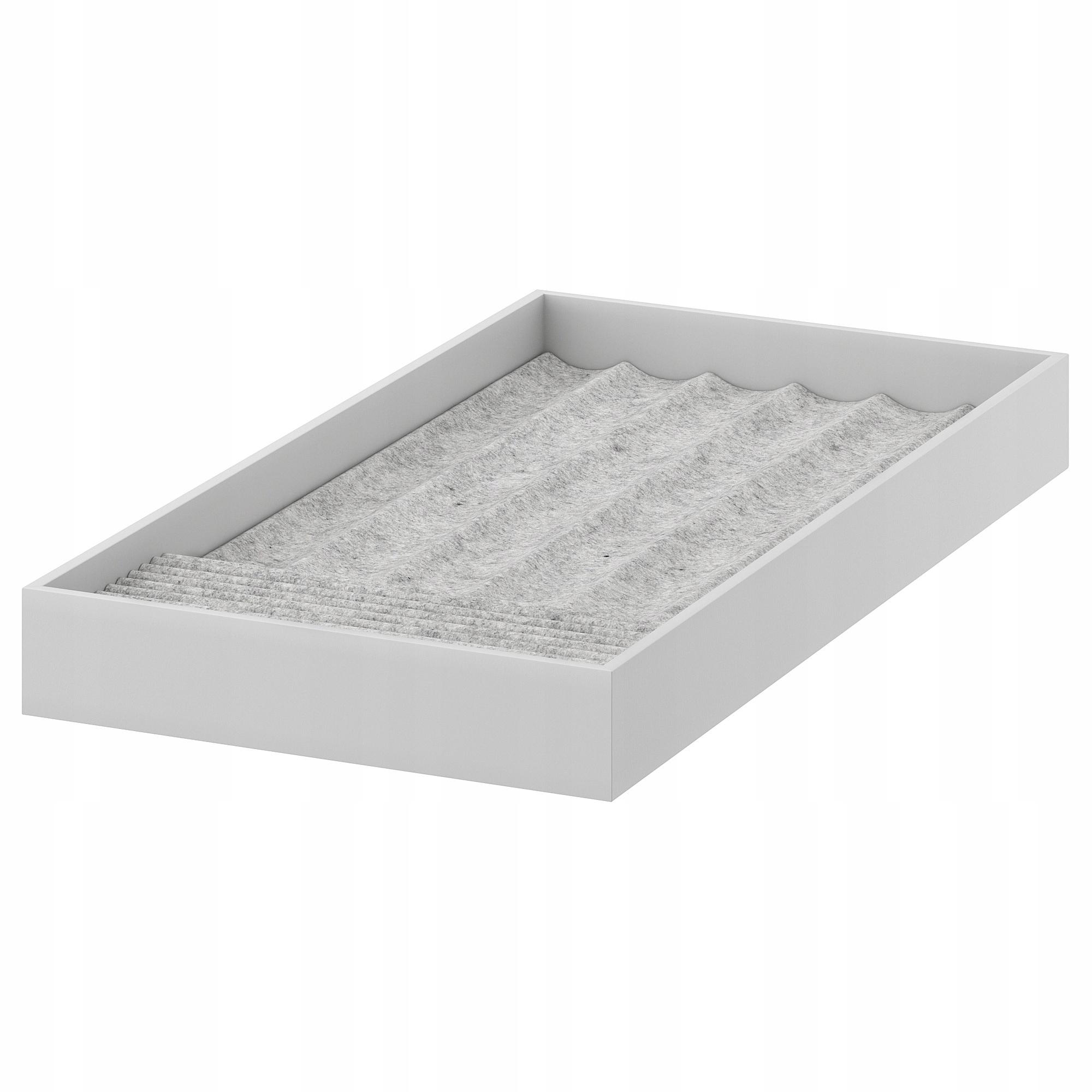 IKEA KOMPLEMENT Wkład na biżuterię jasnoszary