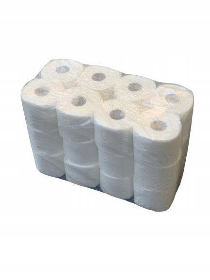 Туалетная бумага белый бархат 3 слоя целлюлоза
