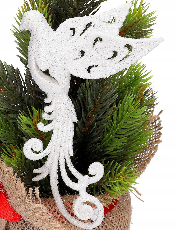 Подвеска PAW BIRD GLITTER CHRISTMAS TREE BALL
