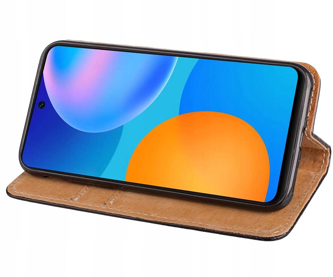 ETUI do Huawei P Smart 2021 SKÓRZANE CASE + SZKŁO Producent Kraina GSM