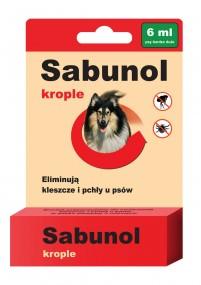Сабунол-капли от блох и клещей 6мл