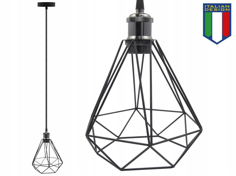 LAMPA SUFITOWA WISZĄCA DIAMA ŻYRADNOL LED LOFT BC1 Marka B-LINE