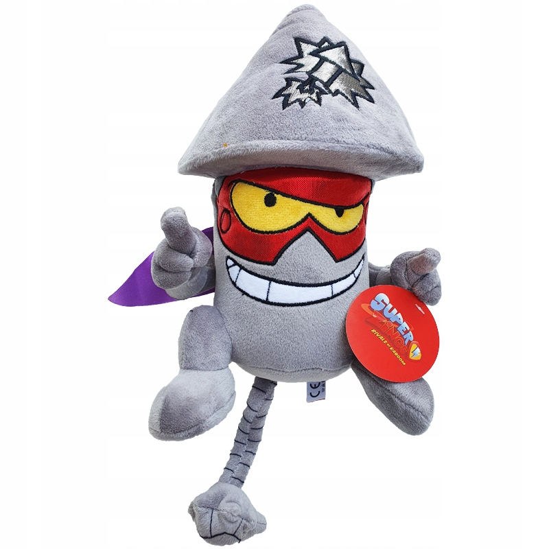 Maskot SUPER ZINGS Plyšová hračka Superzings TIM ROCKET