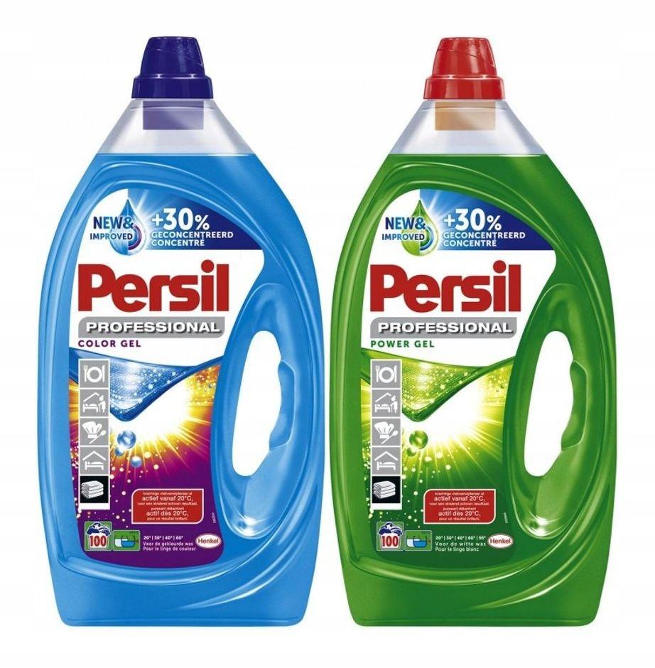 Persil Цвет и универсальный гель для мытья 2x100 Моет 10L