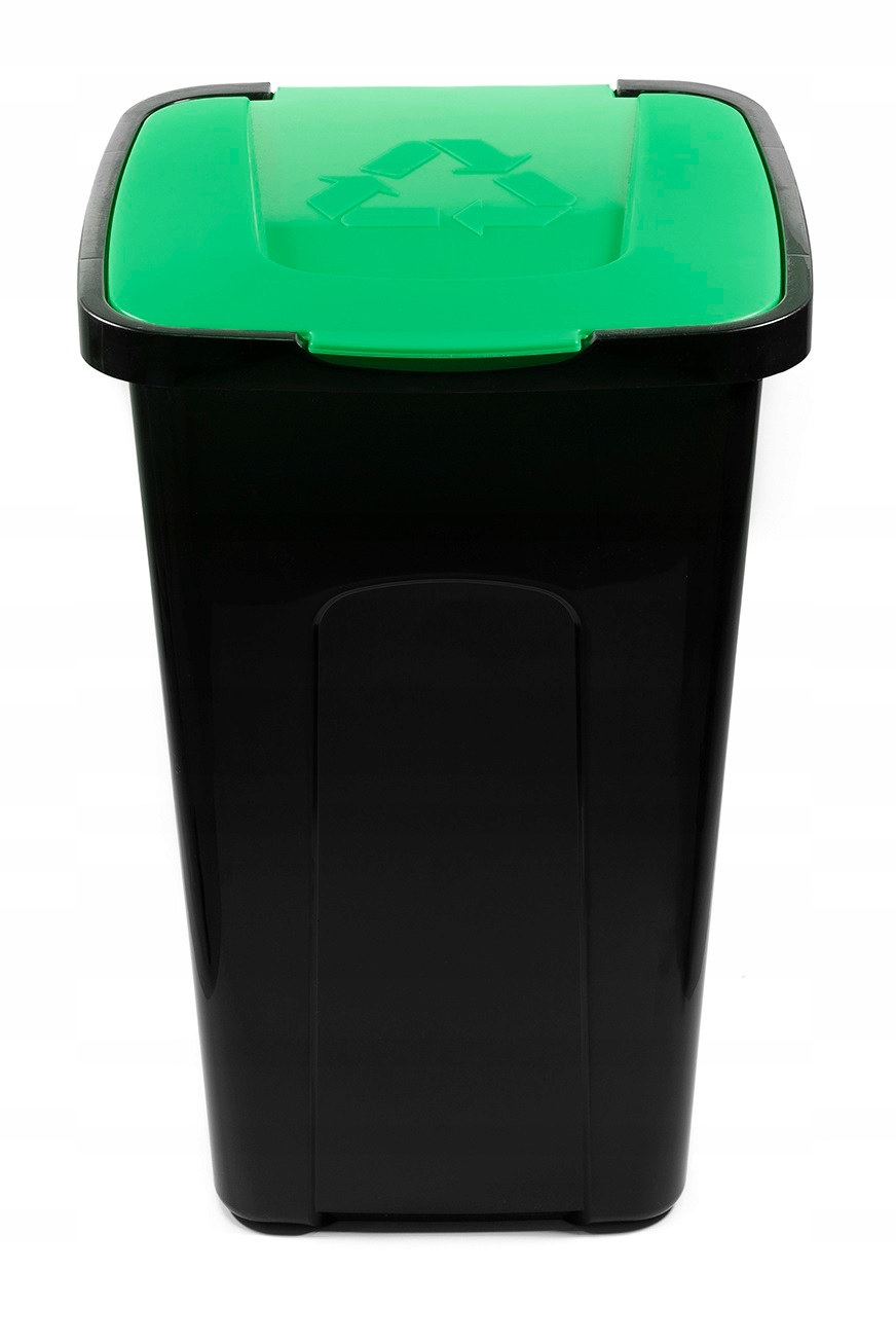 Kosz do segregacji odpadów śmieci Szkło 50L SORT