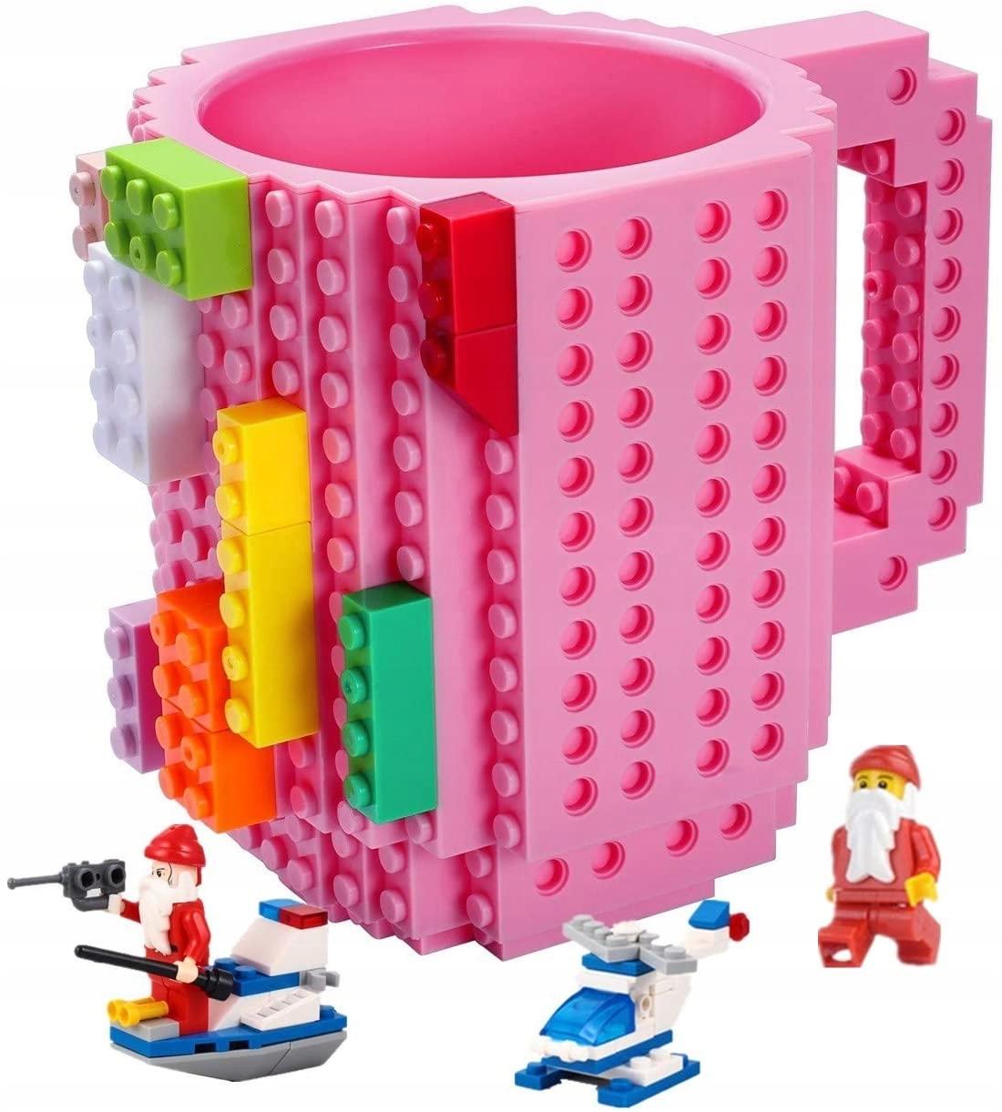 Большая творческая кружка LEGO + набор кубиков