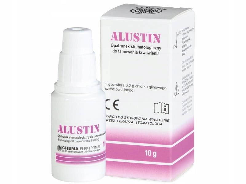 Алустин 10г - кровопотореваемая жидкость