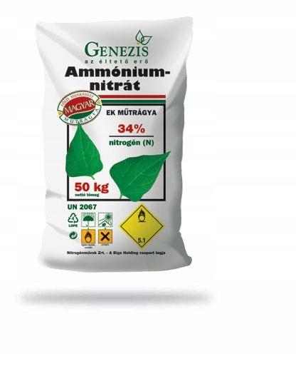 АММОНИЯ АЗОТ 34% N азота 25 кг азота Genezis
