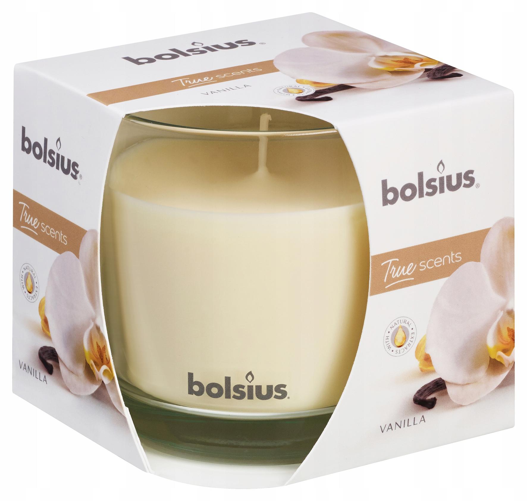 Waniliowy zestaw zapachowy Duży BOLSIUS na PREZENT EAN 5903355132318
