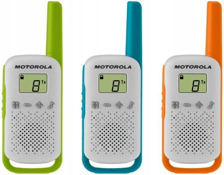 Item RADIO WALKIE TALKIE MOTOROLA T42 TRIPLE