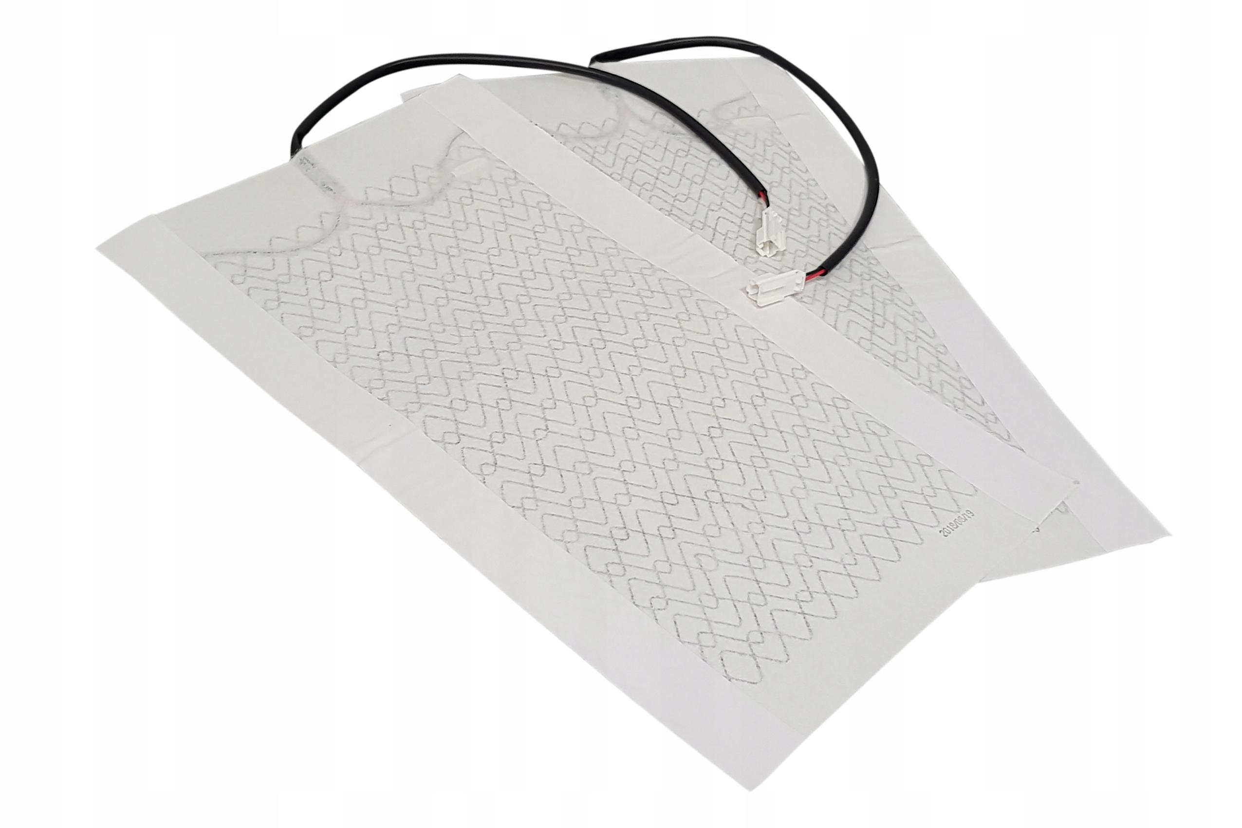 Mata grzewcza - grzejna pod tapicerkę 12V komplet