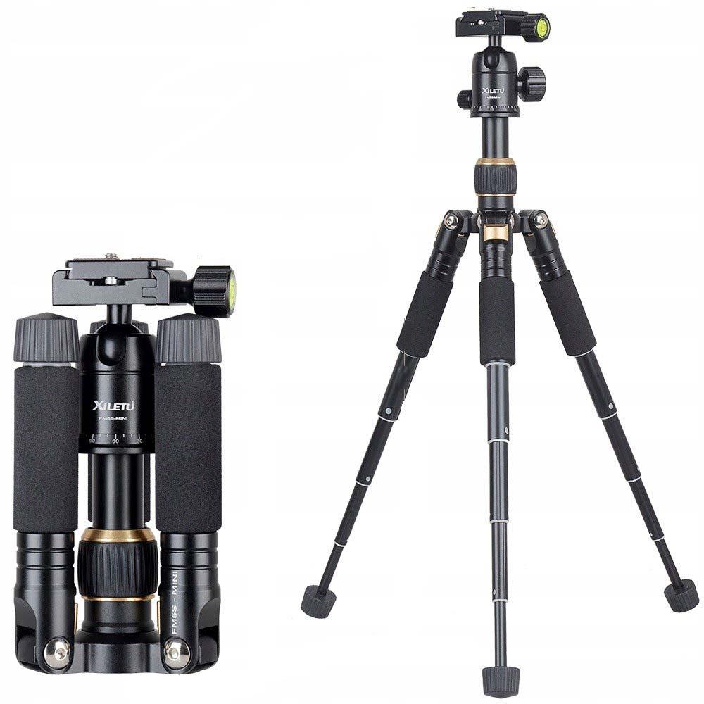 Statyw z głowicą do aparatu fotograficznego Dslr