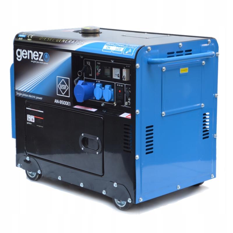 Agregat prądotwórczy 7,5 kw 9,5 kva cichy diesel