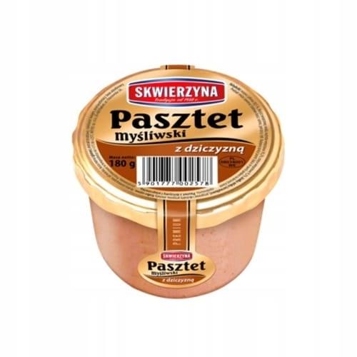 PASZTET Dworski Premium MYŚLIWSKI Z DZICZYZNĄ 180g