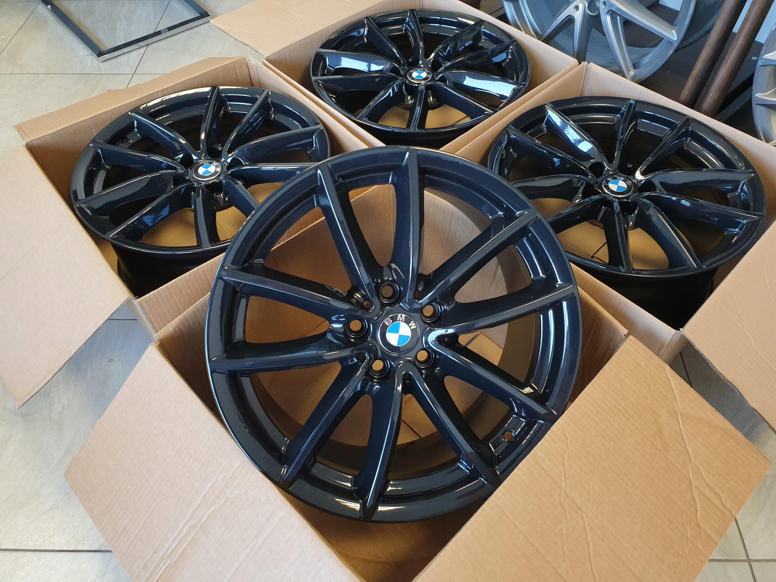 ЧЕРНЫЕ ДИСКИ Литые диски BMW X5 G05 18 INCH 5x112
