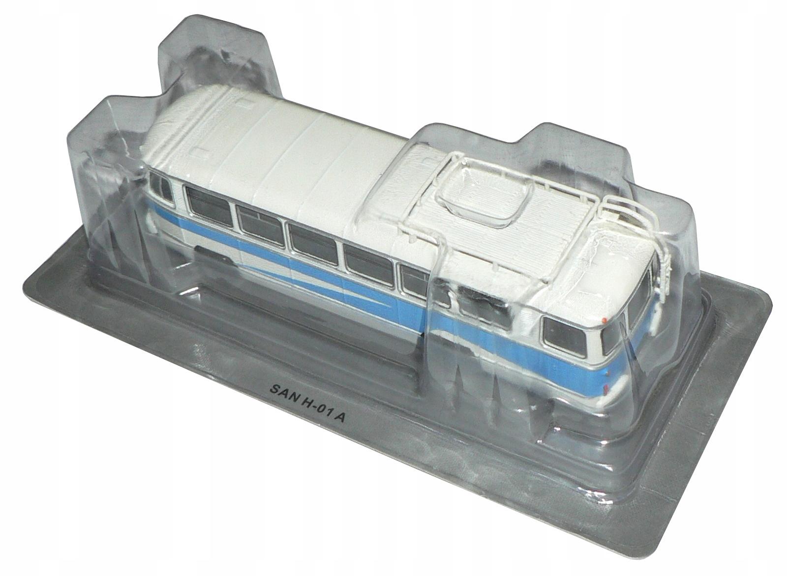 Kultowe autobusy PRL 51 - SAN H01A !!!!!