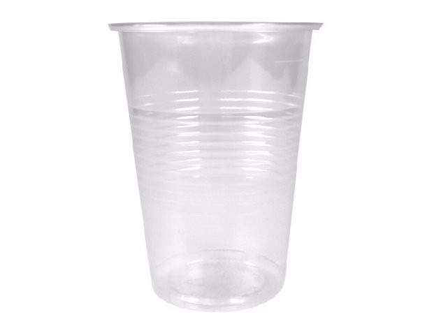 Kubki plastikowe przezroczyste 200ml 100szt wody