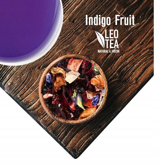 Чай из гороха голубой бабочки с фруктами тутового дерева