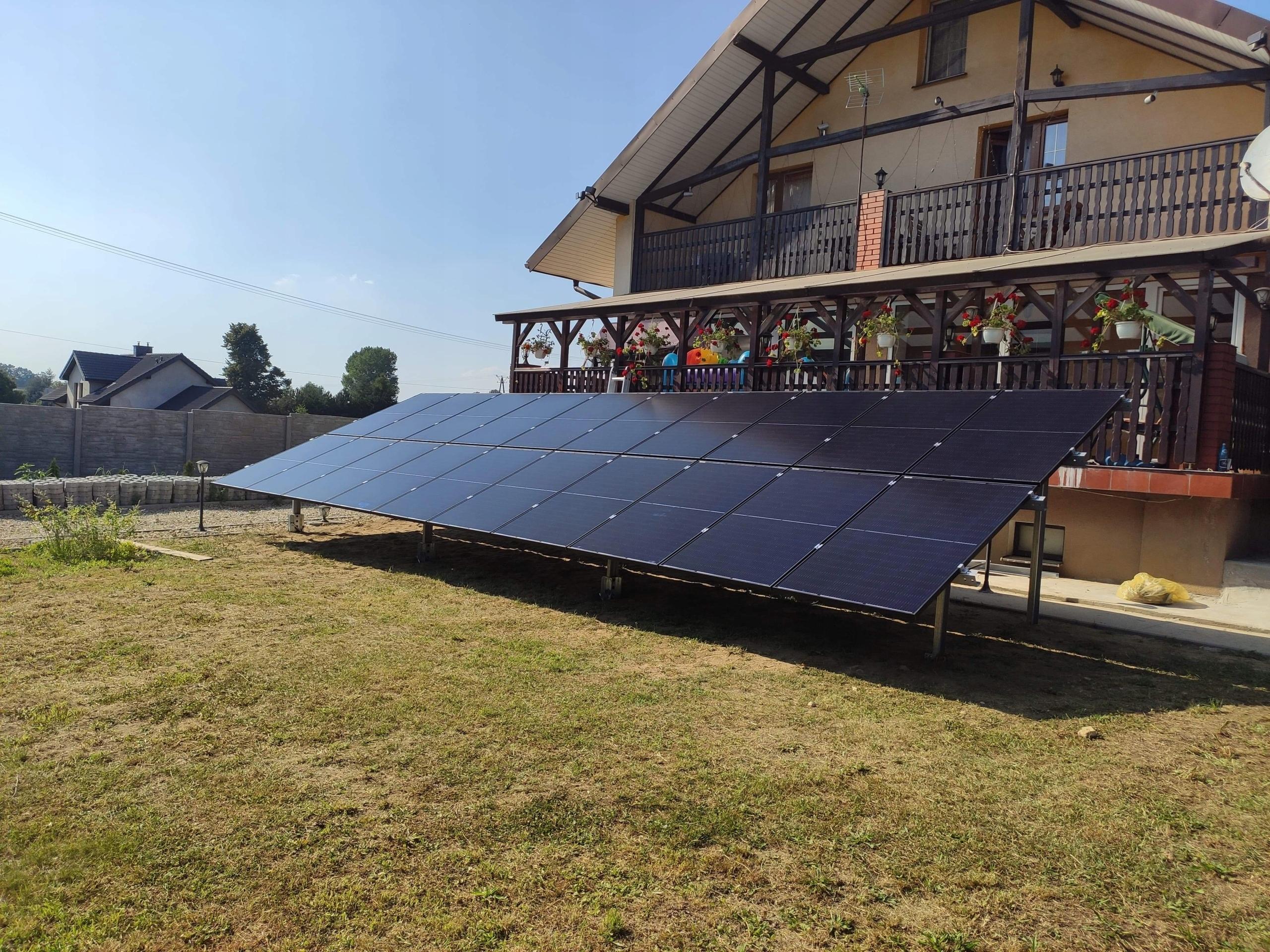 Фотоэлектрическая 10кВт Солнечная установка GRUNT