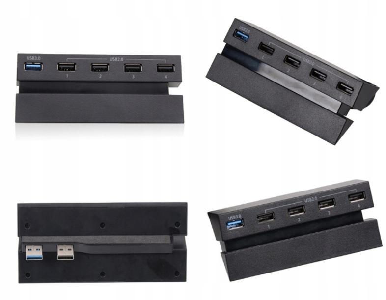Купить 5-портовый USB-концентратор для PS4 High Speed на Otpravka - цены и фото - доставка из Польши и стран Европы в Украину.