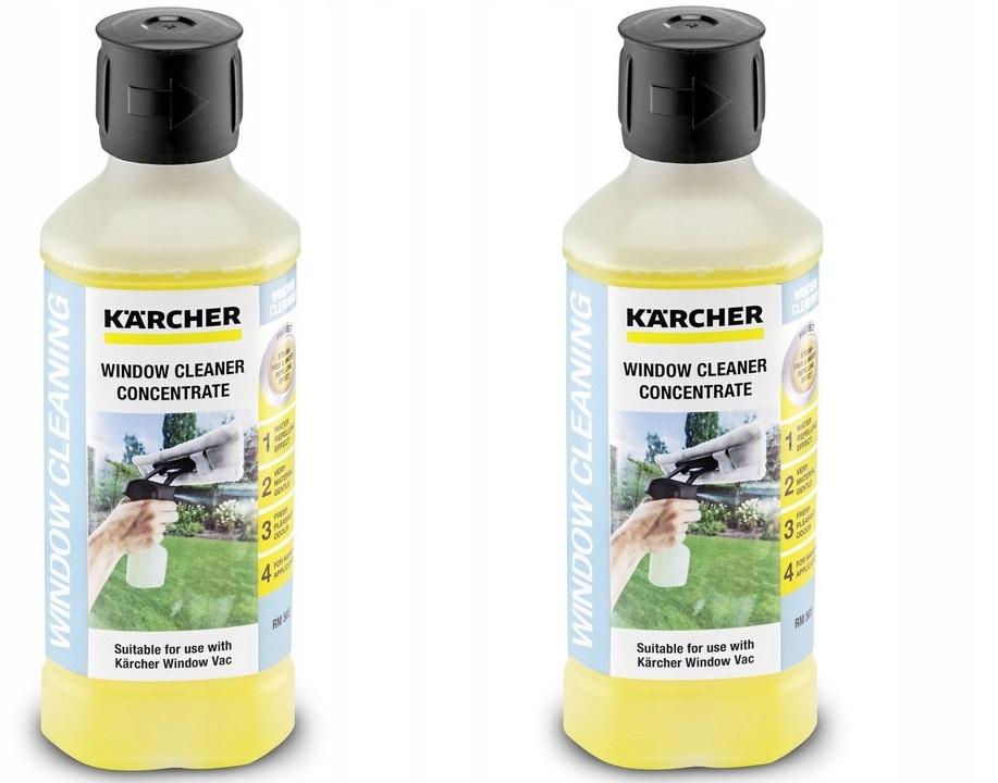 2x Окно жидкости KARCHER RM 503 Концентрат 0.5L
