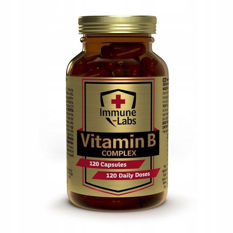 Immune-Labs Vit B Complex 120k WITAMINA B12 B2 B7
