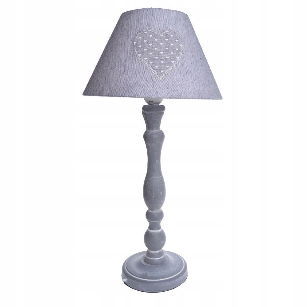 Vysoký svetelný Bolinne sivá vintage 50 cm