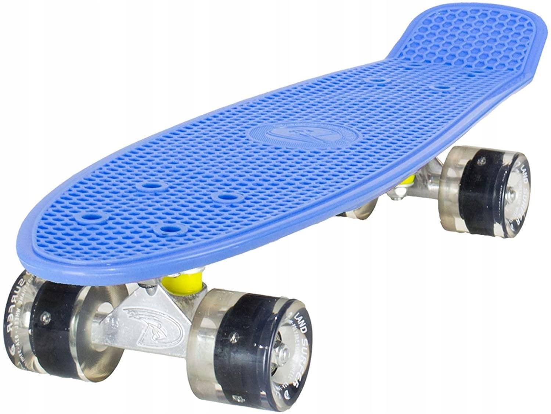 """22 """"skateboard Land Surfer Retro Cruiser"""