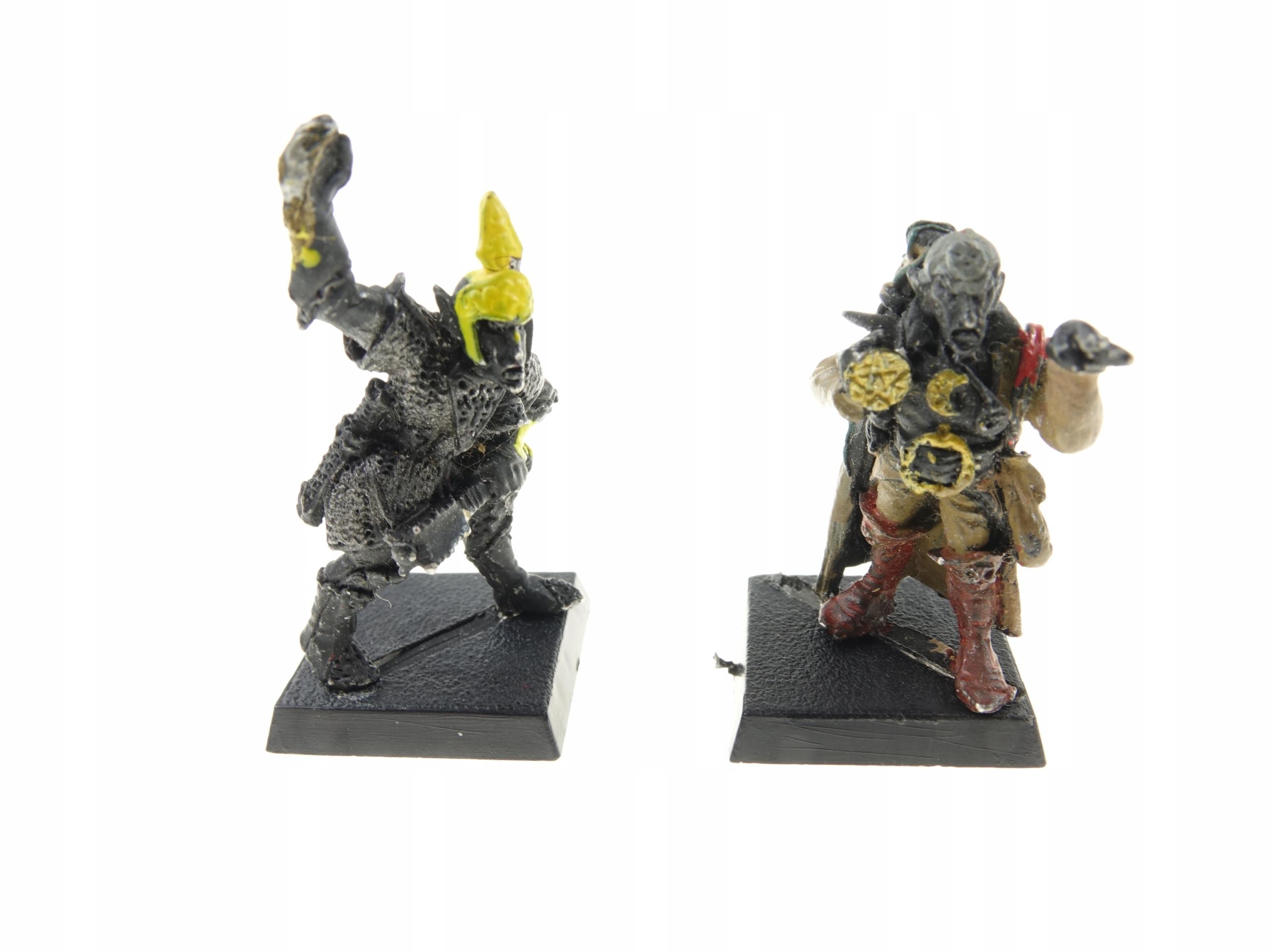 Warhammer Dark Elfs Set 2 Kovové čísla