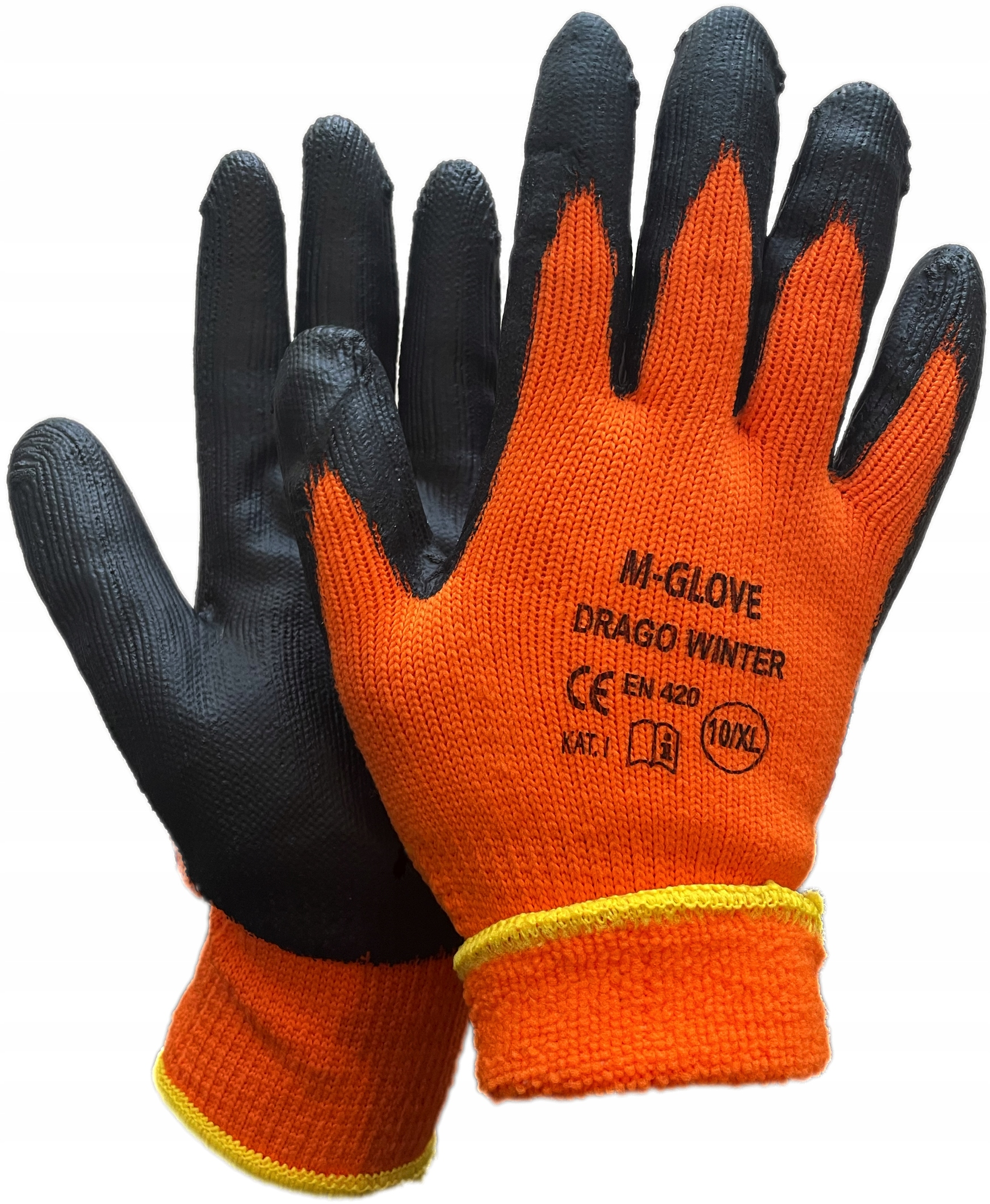 Rękawice robocze rękawiczki OCIEPLANE ZIMOWE DRAGO